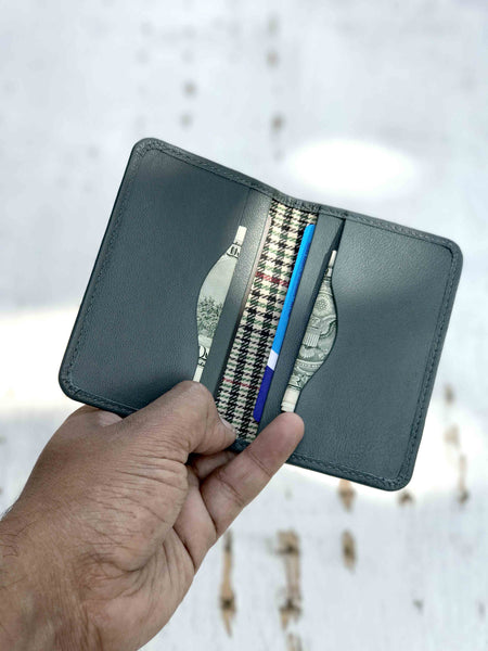 Minimal Wallet-Teal Grey