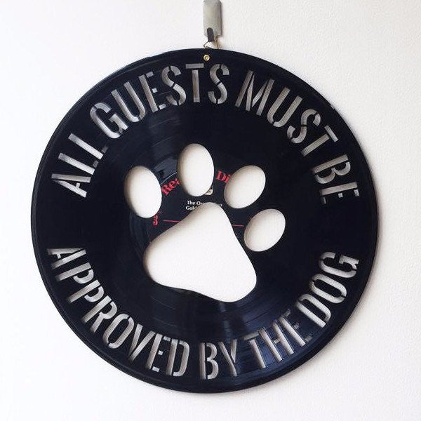 Approved By Dog - Wall Hanging