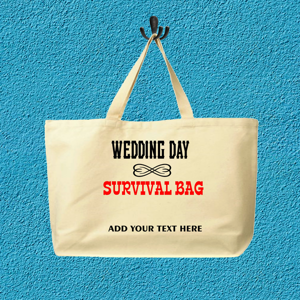 Wedding survival bag