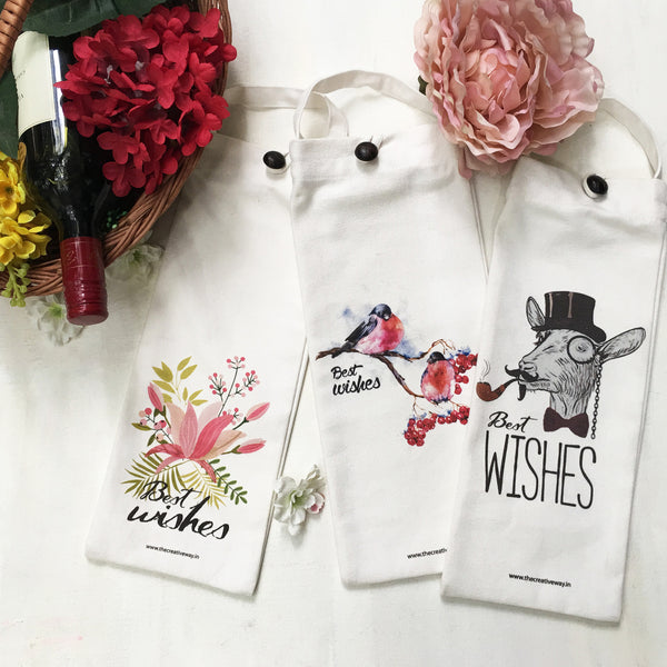 Wine Bags - Charming & Quirky