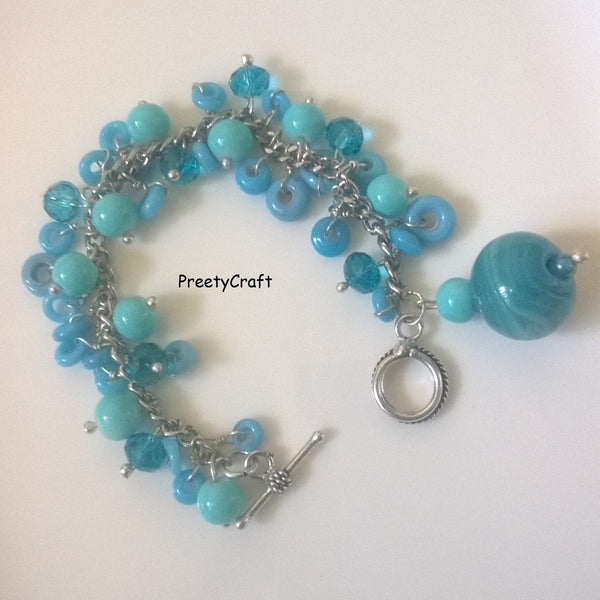 Women's Bracelet Beaded chain bracelet12 - LoveThisStuff.com