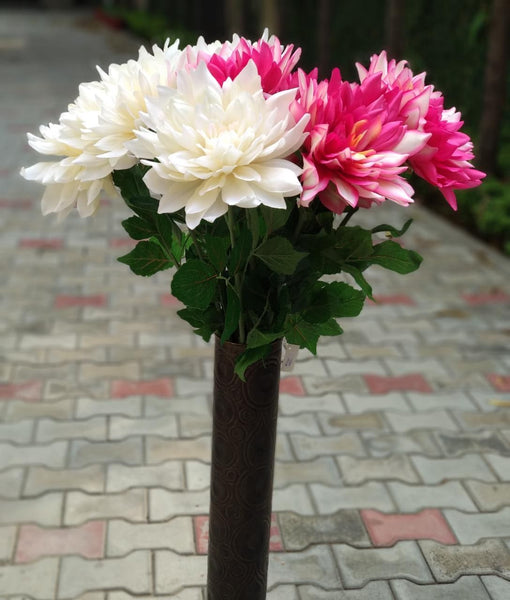 Artificial Oversized Faux Dahlia