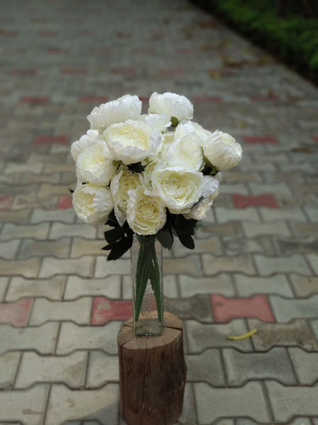 Artificial Pionies Flower Bunch