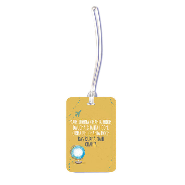 Travel Quote Luggage Tag