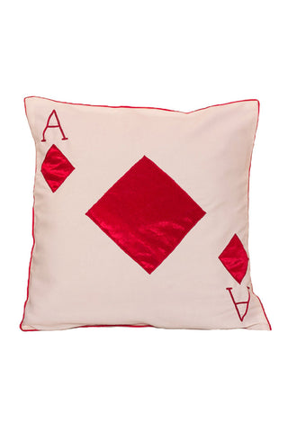 Cushion Cover Ace Of Diamond Cushion Cover - LoveThisStuff.com