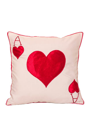 Cushion Cover Ace of Heart Cushion Cover - LoveThisStuff.com