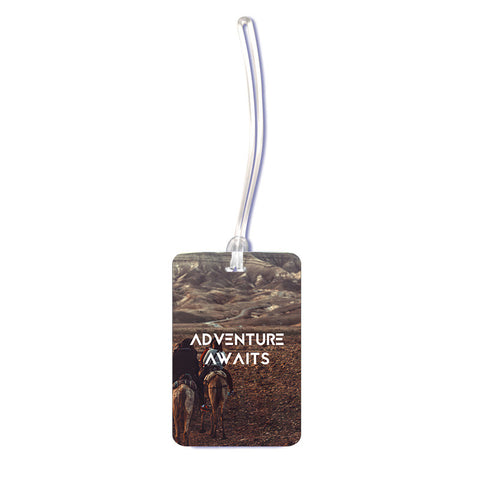 Unisex Luggage Tag Adventure Awaits Luggage Tag - LoveThisStuff.com