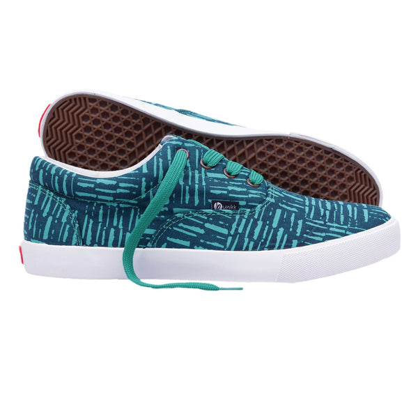Men's Sneakers Beach Stripes Lace Up Sneakers - LoveThisStuff.com