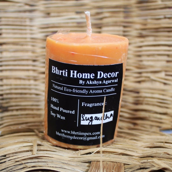 Soy Wax Candle Round - 2.5 Inch