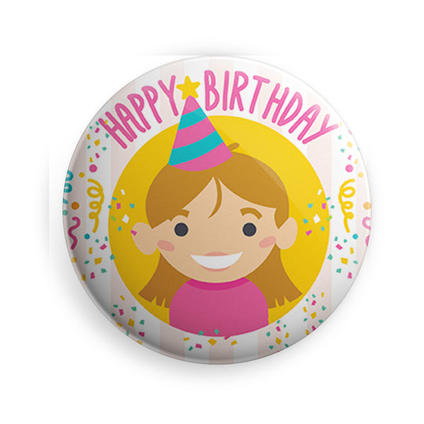 Badge Birthday Girl  Badge - LoveThisStuff.com