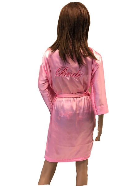 Personalised bathrobe for Bride