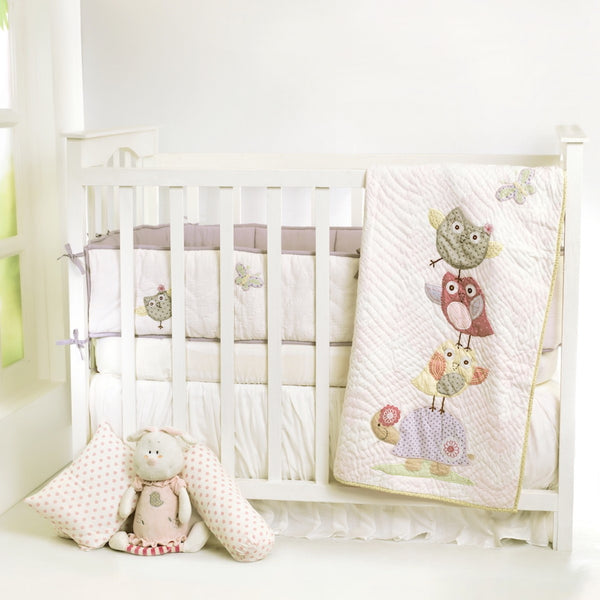 Baby Quilts Chirpy Friends Personalised Baby Quilt - LoveThisStuff.com