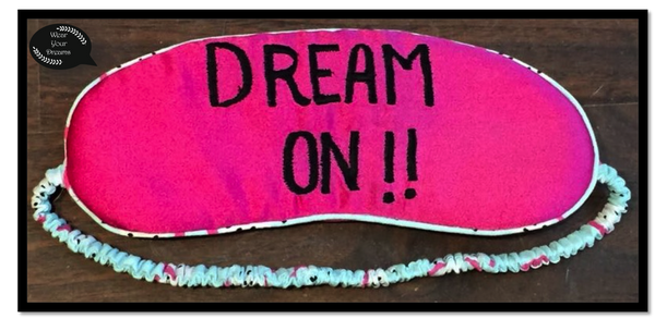 Women's Eye Mask Dream On Eyemask - LoveThisStuff.com