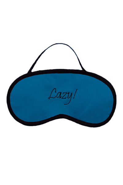 Lazy Blue Eye Mask - LoveThisStuff