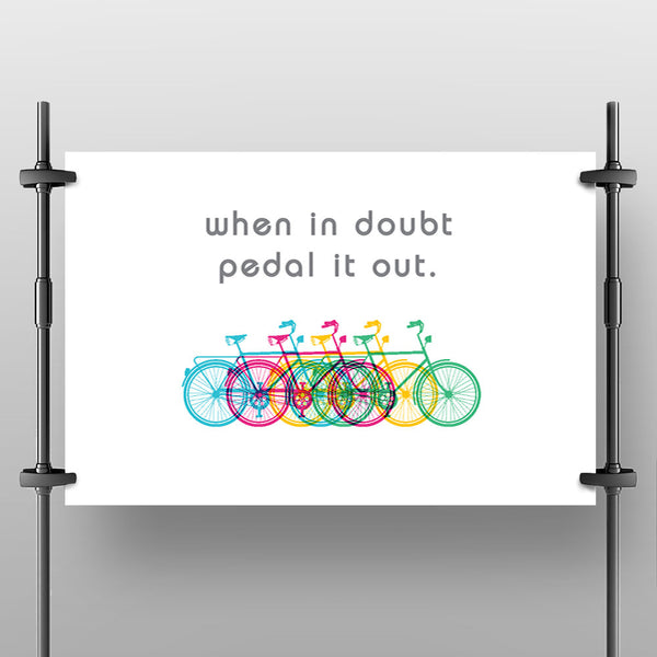 "Pedal it Out Poster - (12""x18"") - LoveThisStuff"