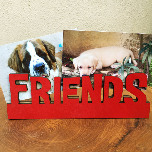 Friends Photo Frame / Stand