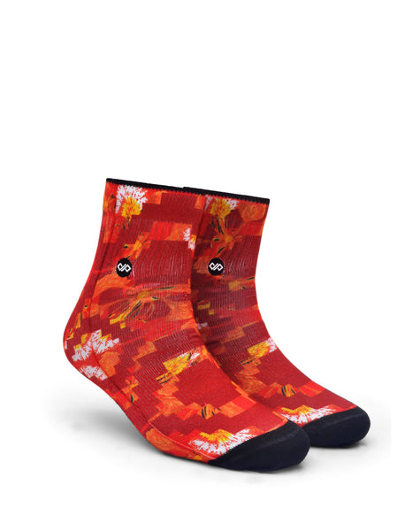 Poinciana Passion Unisex Ankle sock - LoveThisStuff