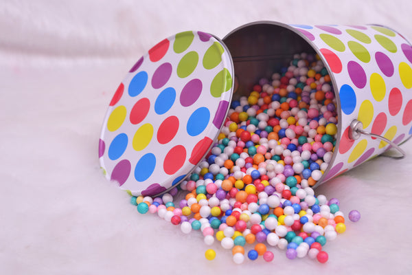 Polka Dotted Bucket - LoveThisStuff