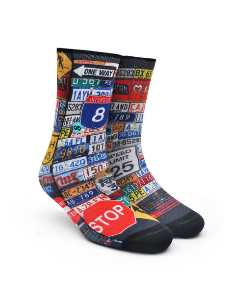 Roadster Unisex Crew socks
