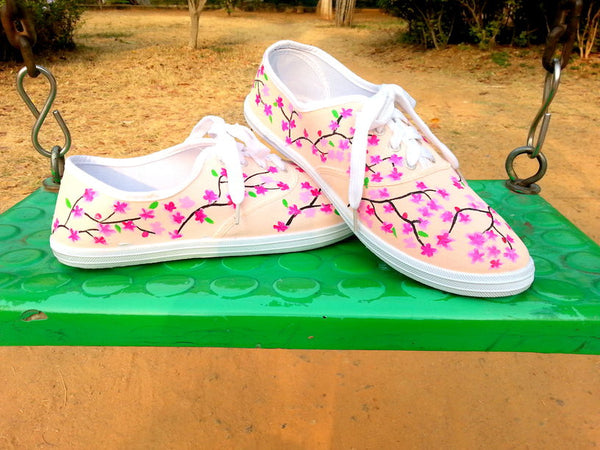 Women's Canvas Shoes Canvas Shoes-Art On Canvas-Spring Theme - LoveThisStuff.com