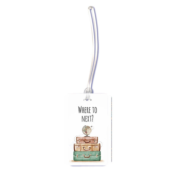 Where to Luggage Tag