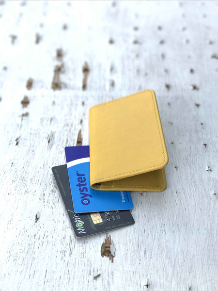Minimal Wallet-Yellow
