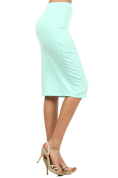 Pencil Skirt Mint (including Curvy)