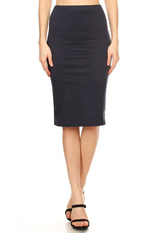 Pencil Skirt Navy (including Curvy)