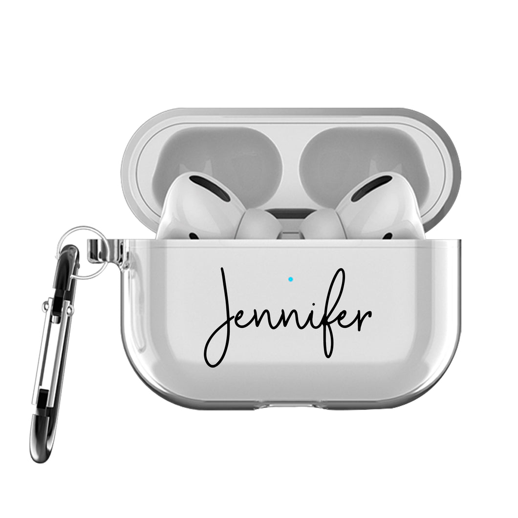 Custom Clear AirPods Pro Case