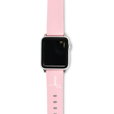 Pastel Pink Apple Watch Strap