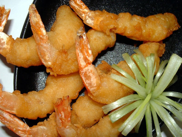 King Prawns in Tempura