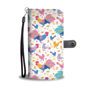 Cute Chicken Wallet Case