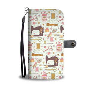 Lovely Sewing Wallet Case