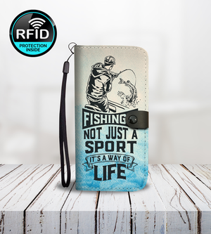 Fishing's Not Just A Sport Wallet Phone Case