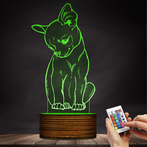 Cute Chihuahua LED Lamp / Night Light