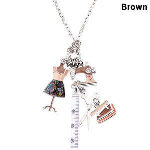 Cute Sewing Tools Necklace * Free Shipping! *