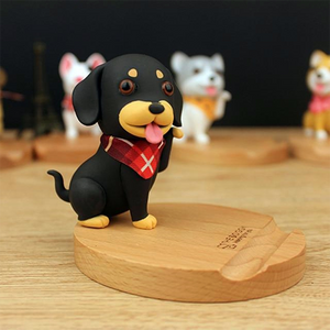 Cute Dachshund Wiener Dog Phone Holder Stand