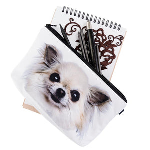 Bag - Chihuahua Makeup Bag