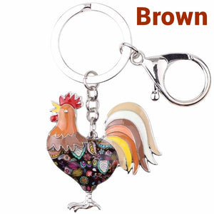 Cute Chicken Keychain