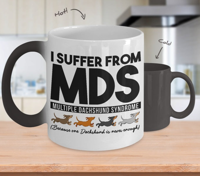 I Suffer From Mds Color Changing Mug Onepunz