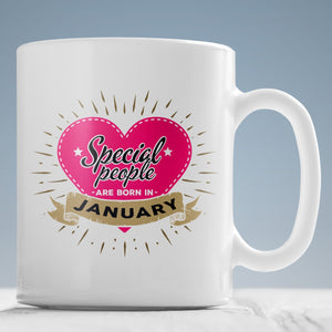 Drinkware - 01 Special People Born In January