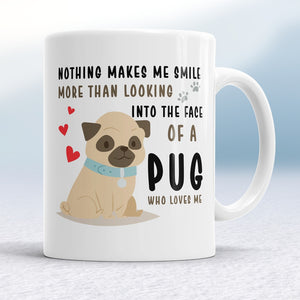 Drinkware - A Pug Who Loves Me Mug