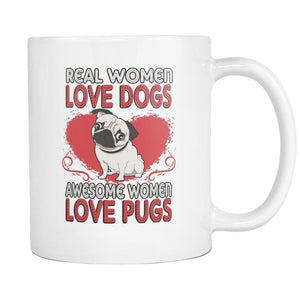 Drinkware - Awesome Women Love Pugs Mug
