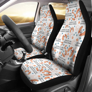 Cavalier King Charles Spaniel Car Seat Covers * Free Shipping! *