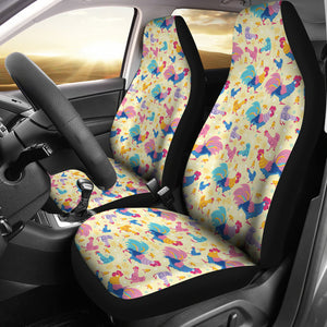 Cute Chicken Car Seat Covers (Set of 2) * Free Shipping! *