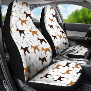 Awesome Bull Terrier Car Seat Covers (White) * Free Shipping! *