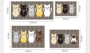 Home Goods - Cat Meow Floor Mat