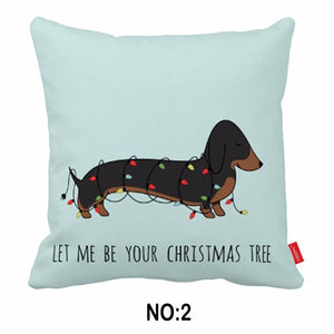 Home Goods - Cute Funny Dachshund Cushion Covers