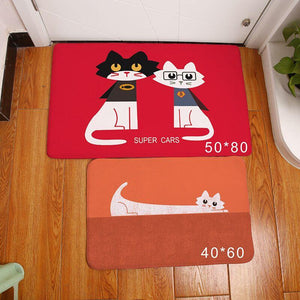 Home Goods - Cute Schnauzer Floor Mat