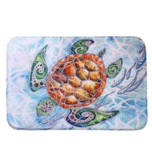 Home Goods - Cute Sea Turtle Floor Mat